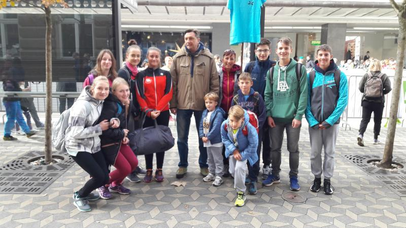 V soboto bomo sodelovali na Ljubljanskem maratonu