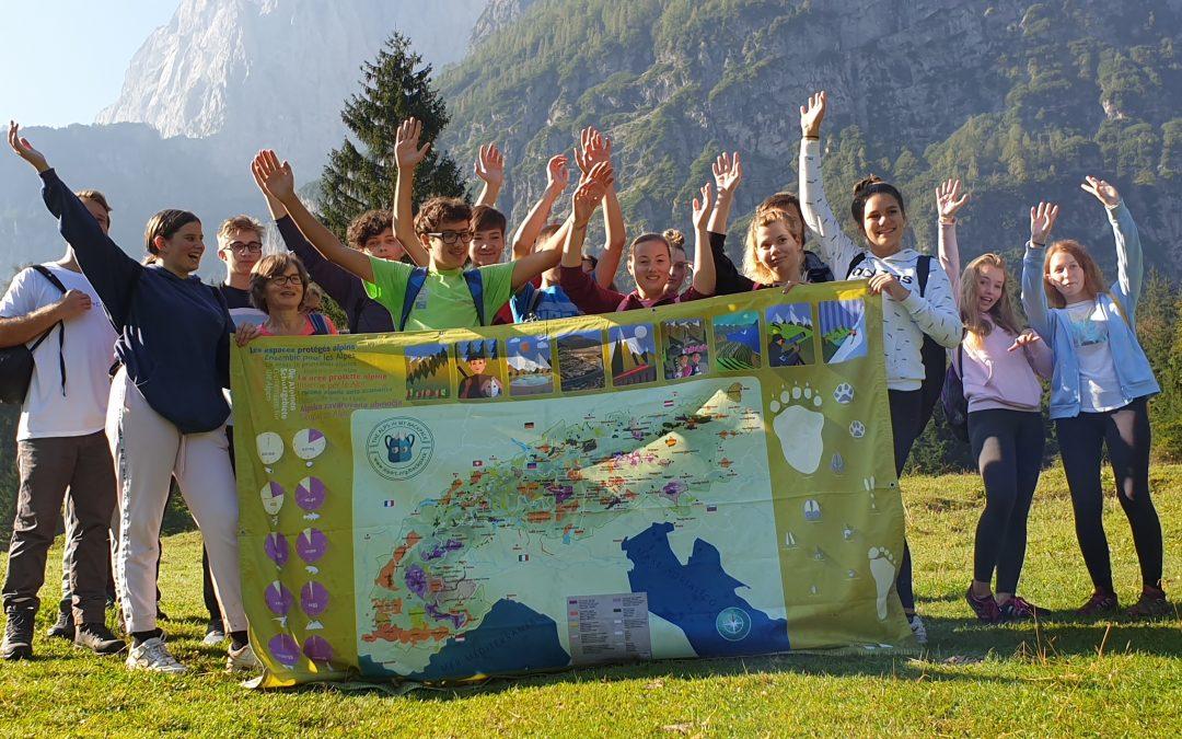 V Krnici je potekal naravoslovni dan za 9. razred